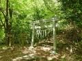 七つ滝入口の鳥居