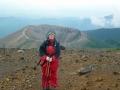 登山道からの吾妻小富士