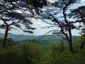 奥の院峰からの眺望
