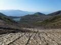 雪渓と沼ノ平