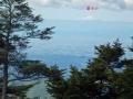 山頂からの富士山-2