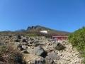 弘法清水小屋と磐梯山
