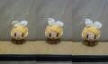 今回は3個ずつ表情を変えてみました