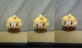 まずはこの三種類の表情で編んでみました