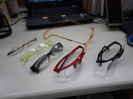 老眼鏡コレクション