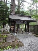 穂高神社 奥の院