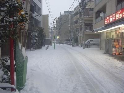 戸越の雪1