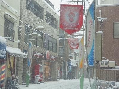 戸越の雪3