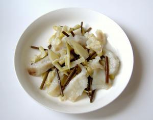 フジの花入りの料理