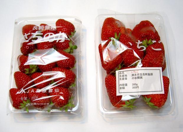 買ってきたイチゴ