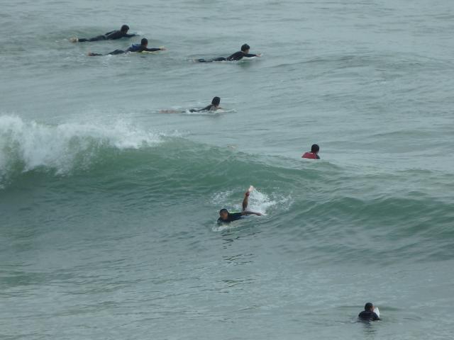 待ちに待ったサーフィンのチャンス到来!