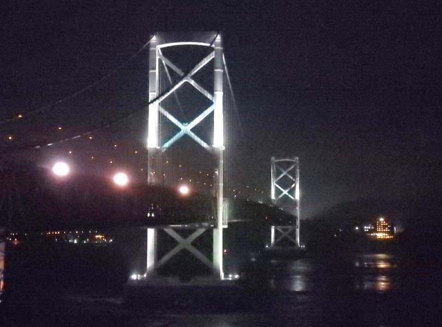 夜の大鳴門橋