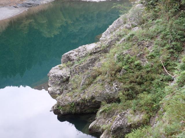 鮎喰川の大きな淵