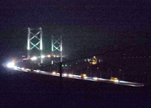 夜の大鳴門橋(その2)
