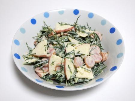 オカヒジキ料理の一例