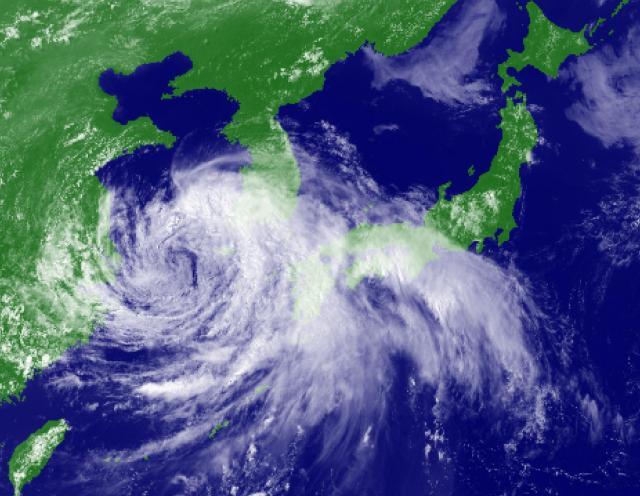 2014年8月2日15時の衛星可視光画像