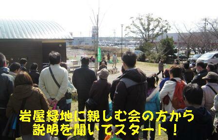 シイタケ菌打ち会 (2)