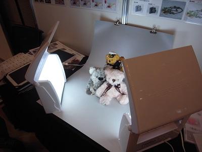物撮り用ライト