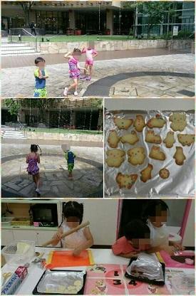 ららぽ水遊びとクッキー