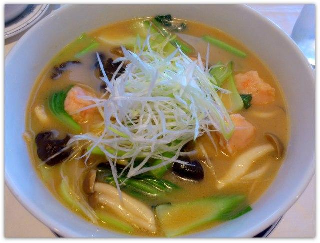 青森県 弘前市 中国料理 豪華楼 海老入り味噌タンメン ランチ 中華