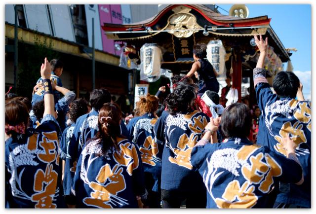 秋田県 大館市 大館 神明社 例祭 彌榮 いやさか 祭り イベント 行事 写真