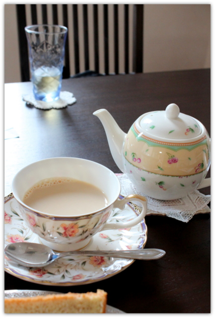 弘前 紅茶専門店 ティーハウス 紅茶の森 ケーキセット 森の彩り