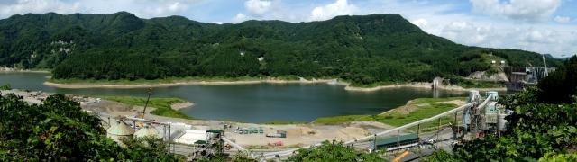 青森県 西目屋村 津軽ダム周辺 写真