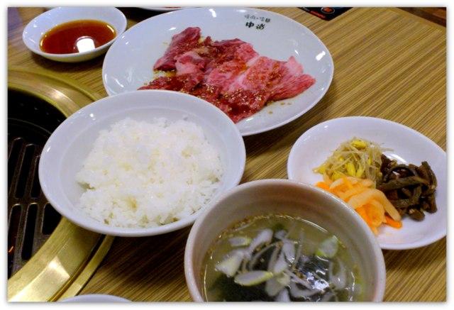 弘前 焼肉 冷麺 中道 なかみち ランチ