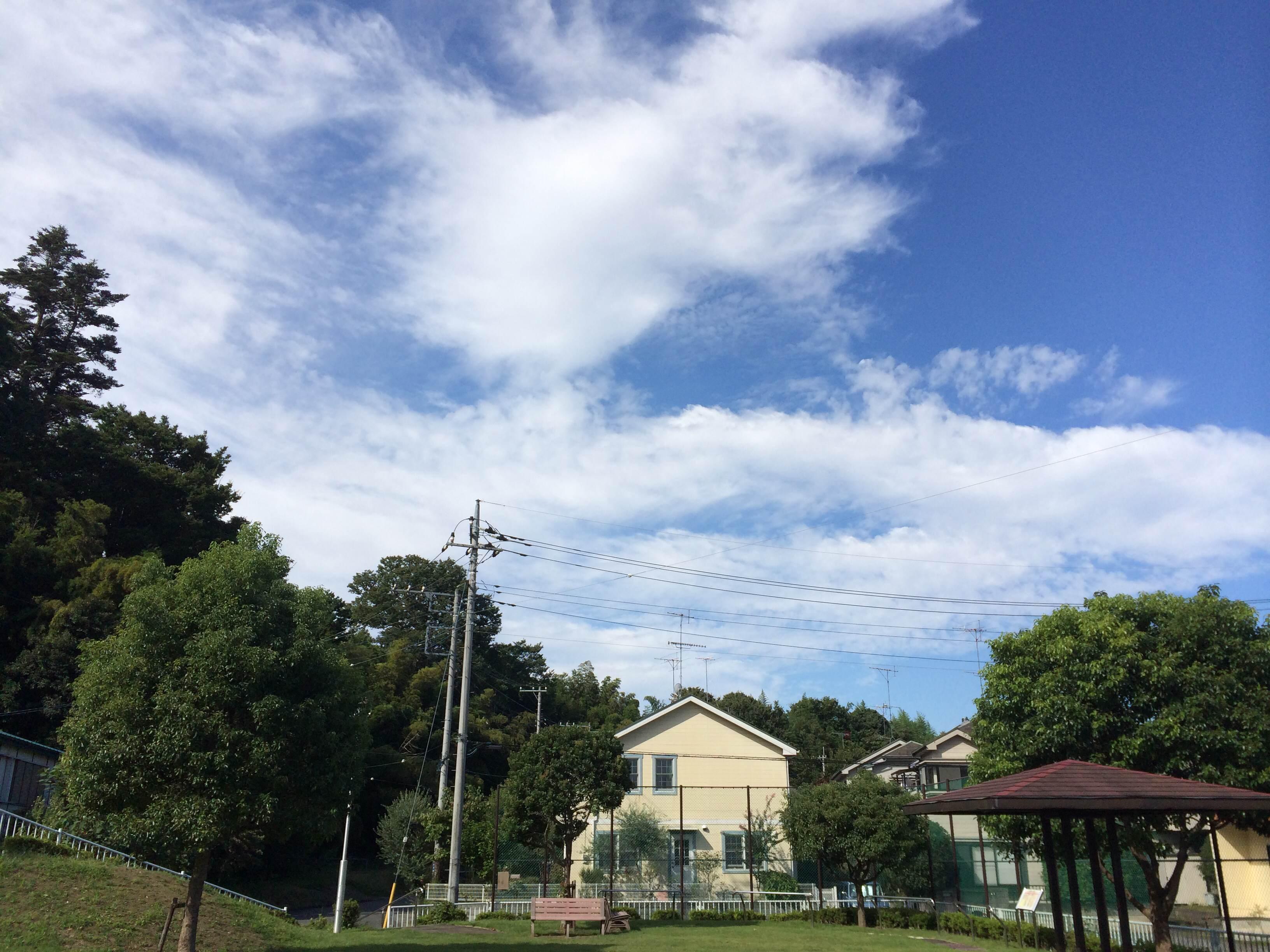 昼夜逆転なおろう会 砂田第2公園 空