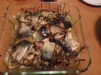 鯖のオーブン焼き