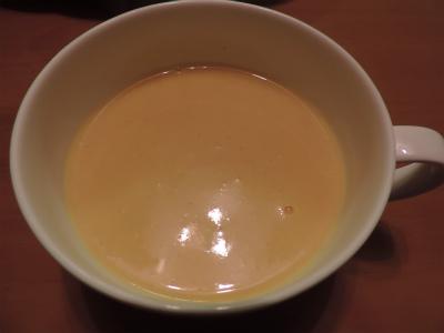 のの、ニンジン・ジャガイモスープ