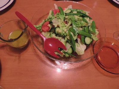 野菜サラダ・ののレモンドレッシング