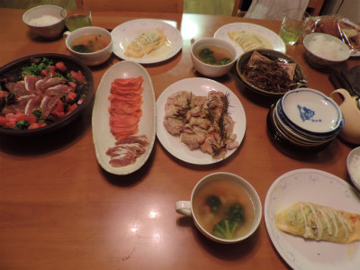 3.30夕食