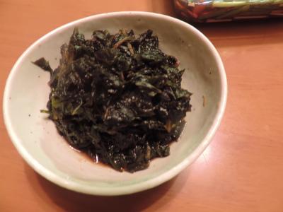 蕗の葉の佃煮