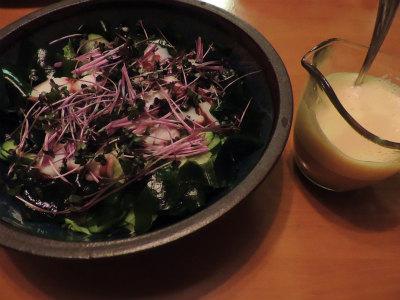 5・5タコと野菜のサラダ