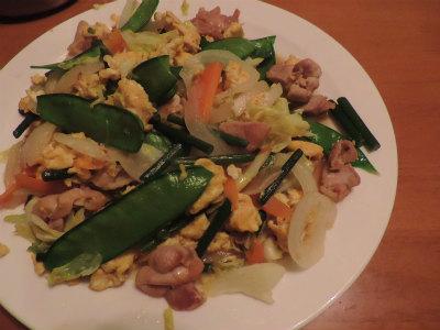 春野菜炒め