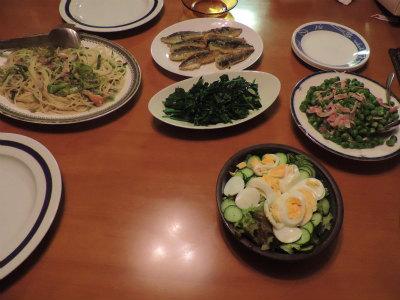 5.30夕食