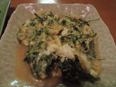 6.14水菜卵とじ