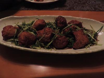 6.23魚団と水菜のオイスターソース炒め