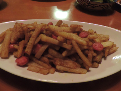 7.5ジャガイモのカレー炒め