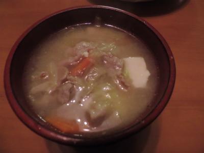 7.21豚汁