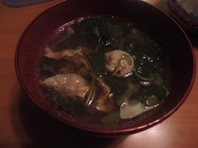 7.26豚バラと空心菜のスープ