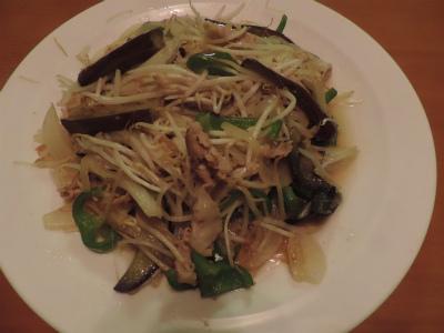 7.27肉野菜炒め