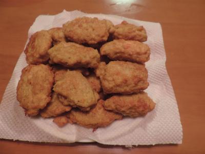 8.3大豆・鶏肉のカレー揚げ