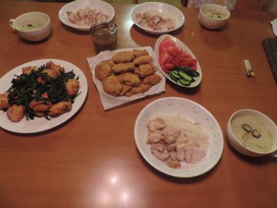 8.3エスニックの夕食