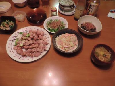 8.10夕食