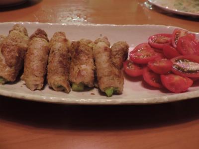 8.13豚肉アスパラ巻き