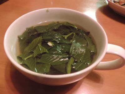 8.13モロヘイヤスープ
