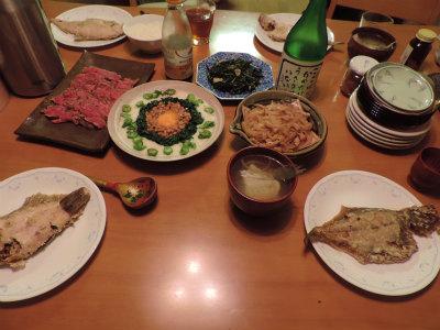 9.6夕食
