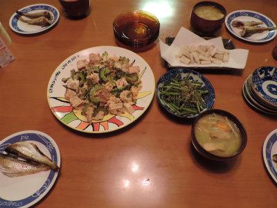 9.7夕食